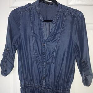 Other - Blue Jean Romper size Small